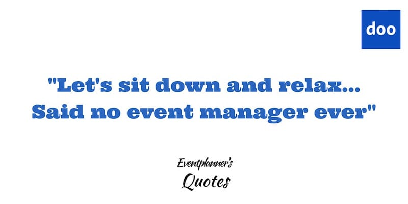 Eventmanager Quote