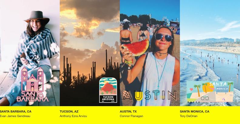 Snapchat für Events Geofilter