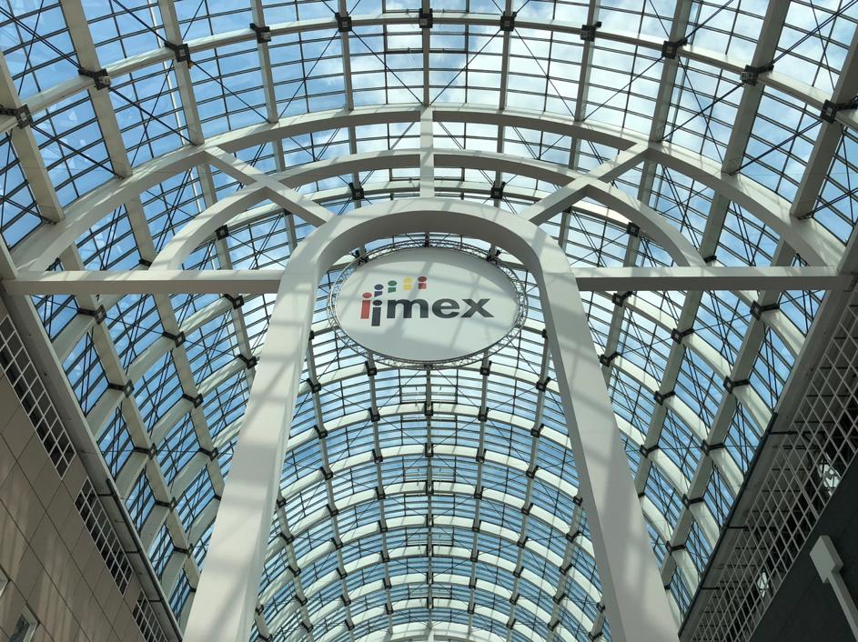 Abbildung 1: #IMEX18: Auch 2018 öffnet die IMEX in Frankfurt ihre Pforten