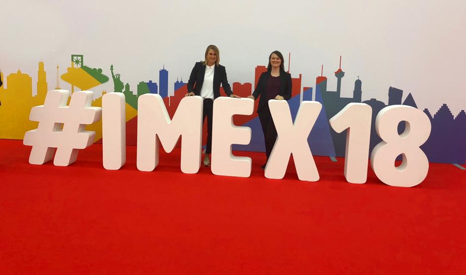 Abbildung 2: Marketing doodes auf der IMEX