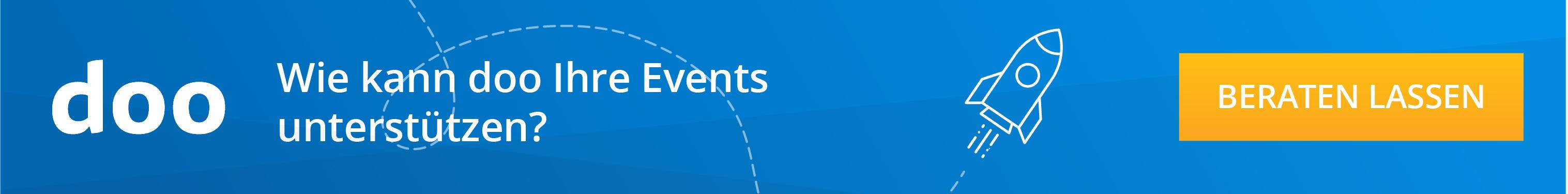 Wie kann doo Ihre Events unterstützen?