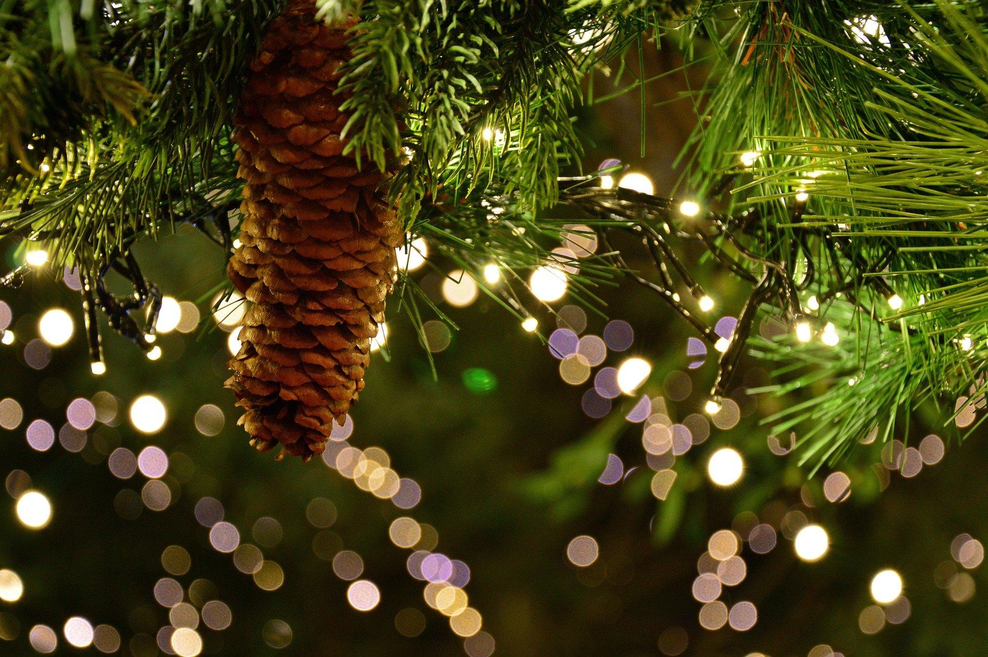 Weihnachtstraditionen Christbaum