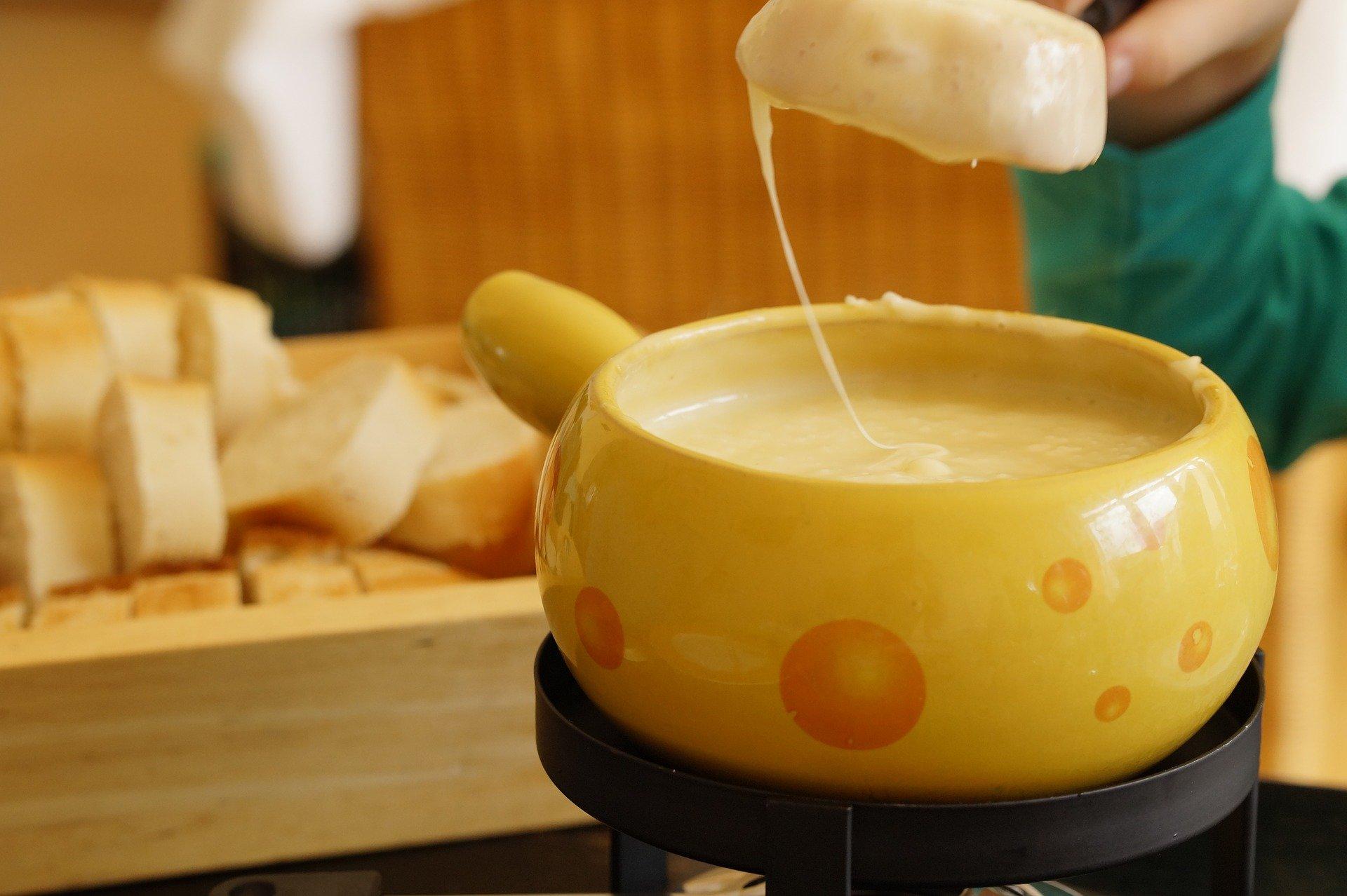 Weihnachtstraditionen Käsefondue