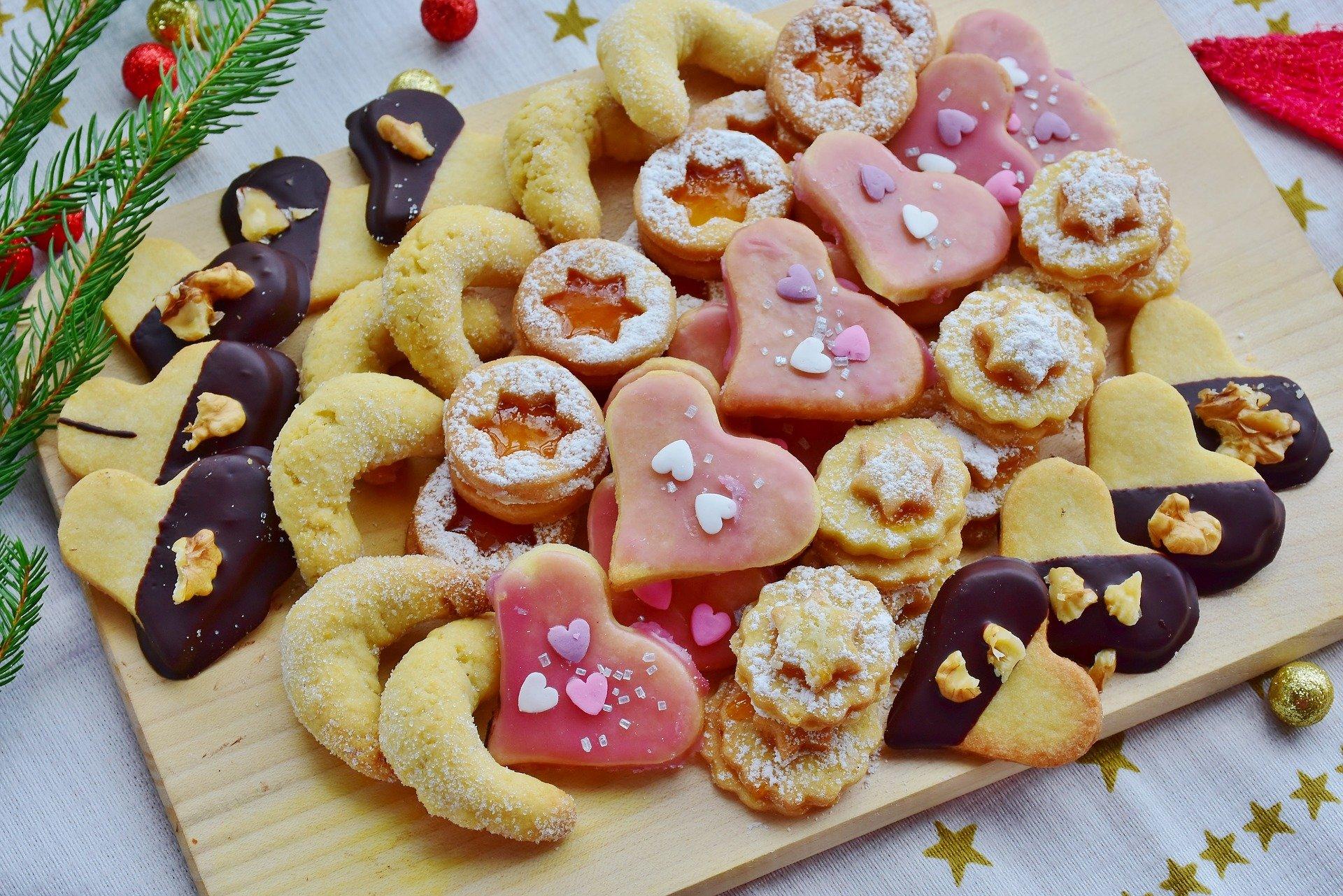 Weihnachtstraditionen Plätzchen
